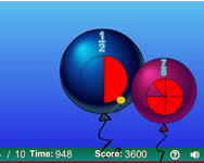 Balloon pop math fractions online j�t�k