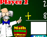 Two player math game j�t�k